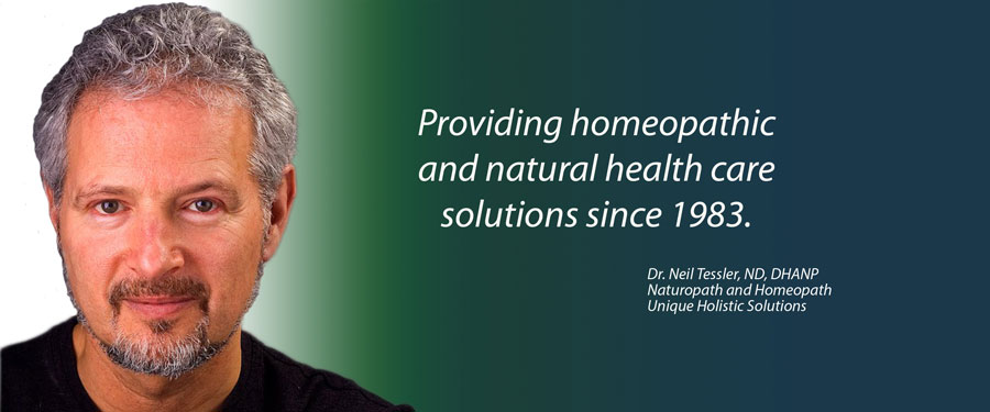 Dr. Neil Tessler, White Rock and South Surrey's Leading Naturopathic Doctor, Providing homeopathic and natural health care solutions since 1983.